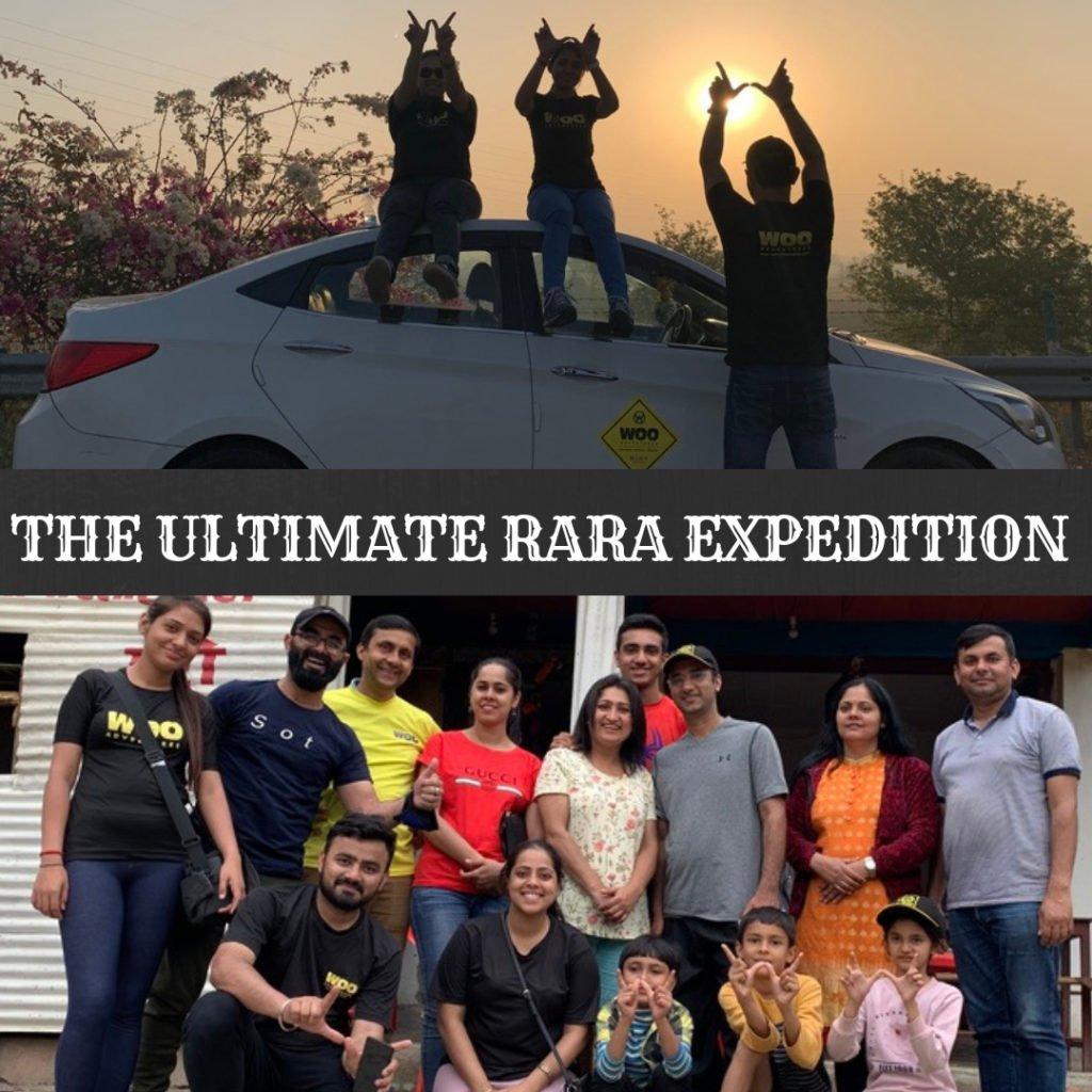 RARA expedition with WOO