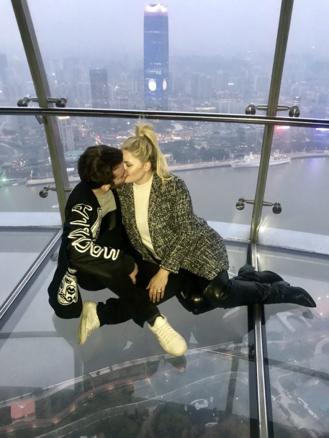 Cole and Kelsea in the Pearl Tower