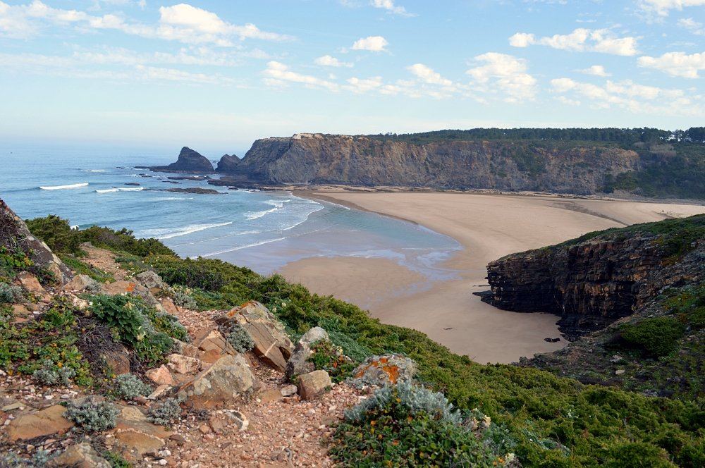 Odeceixe beach, Portugal.