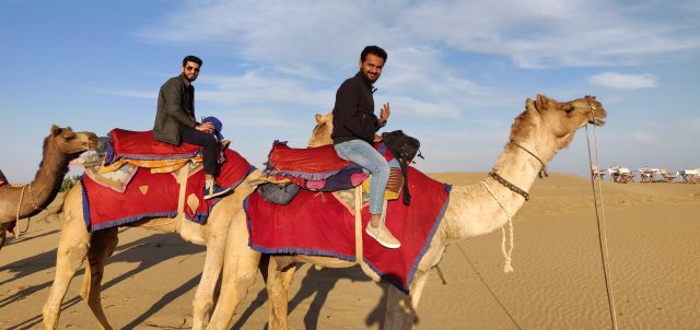 Camel Safari at Kanak