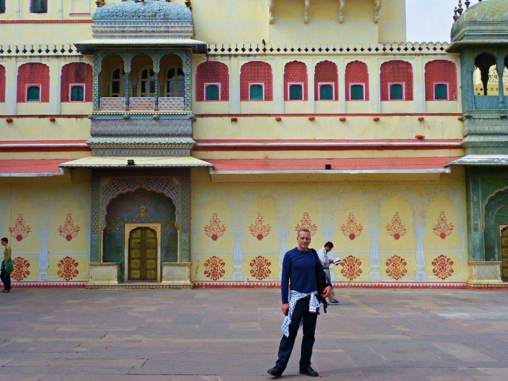 James in Jaipur
