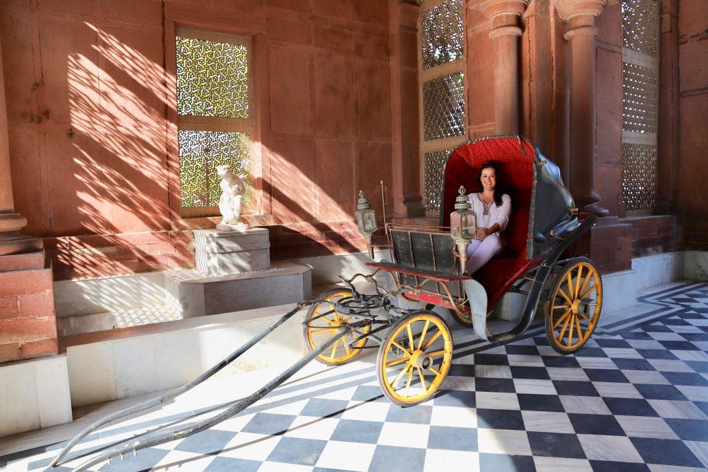 Christina - Raj Niwas Palace
