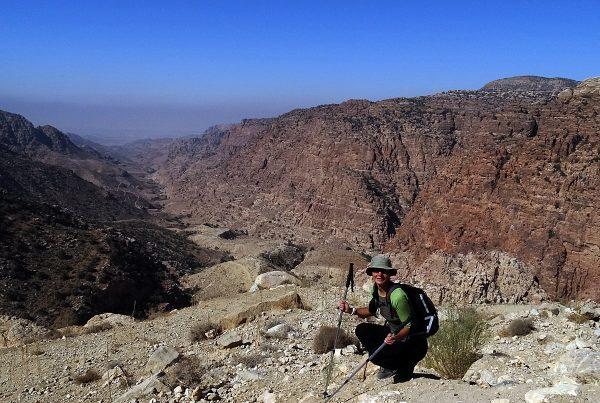 Wadi Dana Trail, Jordan 2017