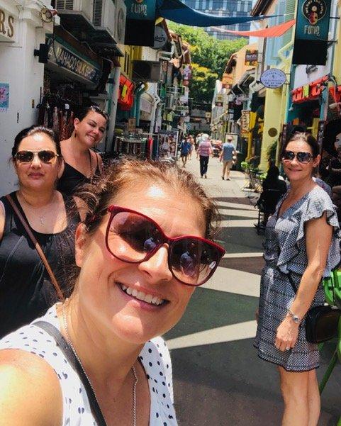 Paula at Arab street - Singapore