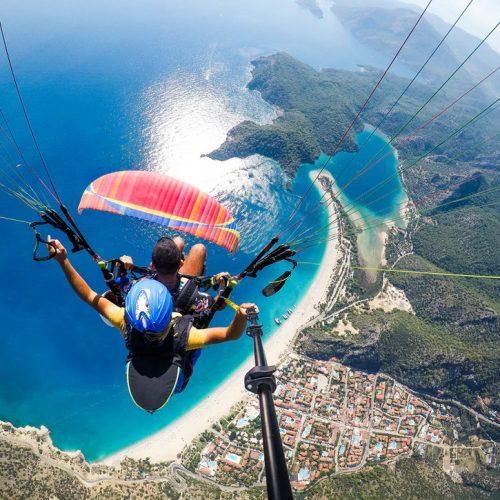 Paragliding in the Ölüdeniz Fethiye
