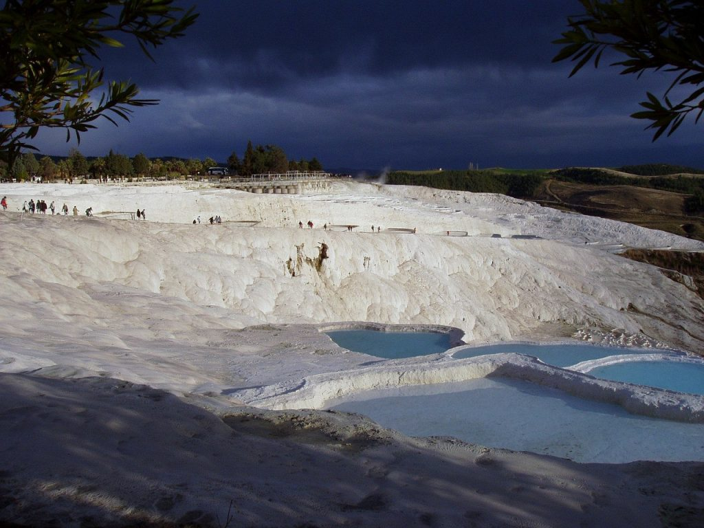 Enjoy the Hot Springs of Pamukkale