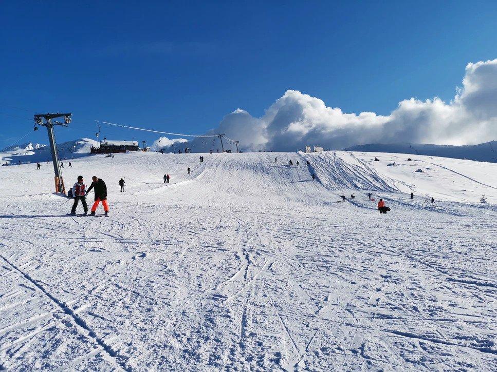 Skii At Uludag