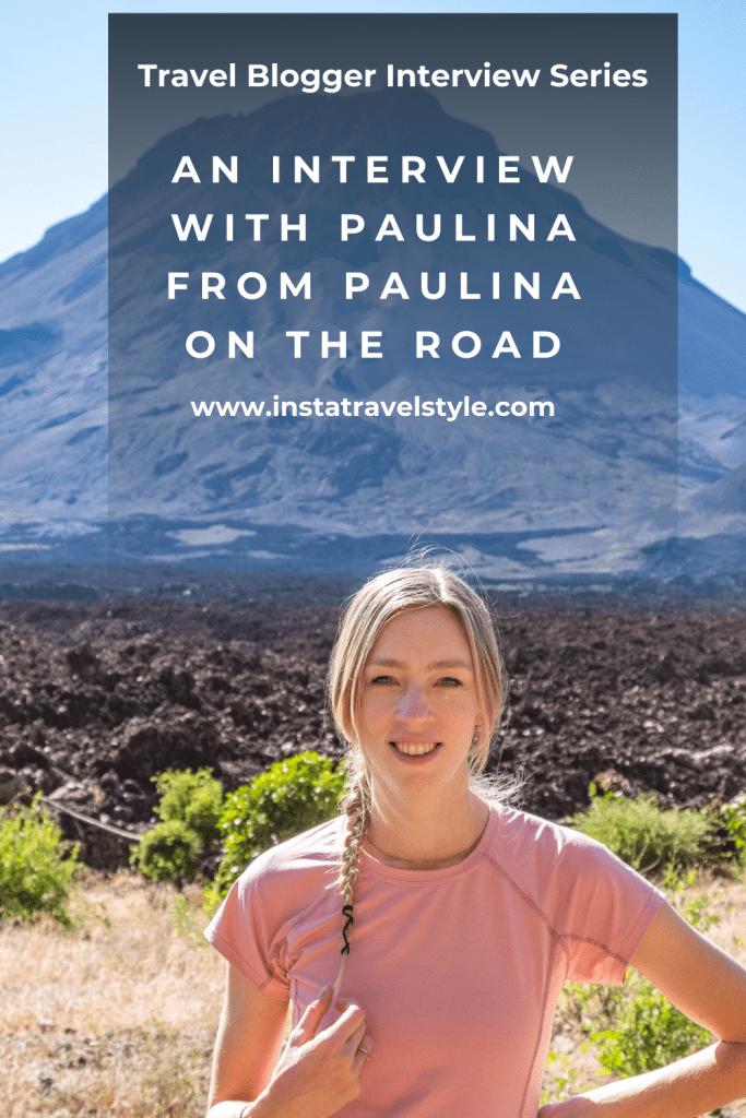 Paulina from blog Paulina on the road